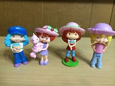 Vintage Strawberry Shortcake Doll Lot Berry Sweet Blueberry Muffin Angel Cake
