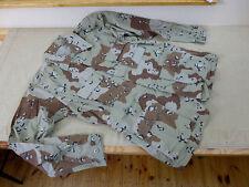 #D20 US DESERT 6 colour chocolate chip Feldjacke Tarnjacke coat combat Gr.M/lg