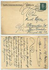 42747 - Postkarte- Deutsche Reichsbahn-Gesellschaft - Bahnpoststempel 15.10.1929