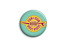 Surf - California Surf 1 - Badge 56mm Button Pin