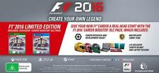 F1 2016 *LIMITED EDITION* (XBOX One Codemasters) Formula One Racing Day 1 Launch