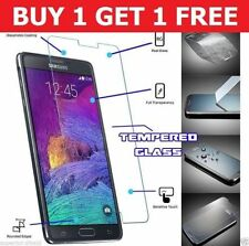 100% HD Genuine Samsung Note 4 vetro temperato Pellicola Screen Protector (pacco da 2)