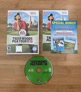 Tiger Woods PGA Tour 10 (Nintendo Wii, 2009) Golf Game Complete - Ships Same Day