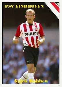 2020 All-Star Soccer CTNW #3 Arjen Robben PSV Eindhoven Custom Card
