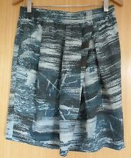 Sandwich Ladies Skirt 12 Green Patterned Casual Summer Holiday EUR 38
