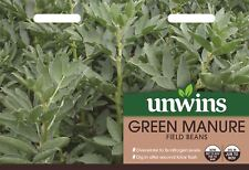 Unwins Pictorial Packet - Green Manure Field Beans Seeds