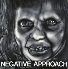 "Negative Approach - 10 Song 7"" EP LP - Classic Hardcore PUNK - NEW COPY"