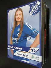 69204 Sinah Amann SC Sand Damen original signierte Autogrammkarte