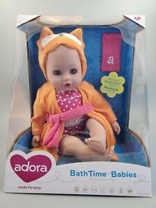 NIB Adora BathTime Babies Owl 8.5-Inch Doll