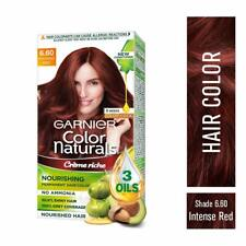 Garnier Naturals Crème Hair Color Shade 6.60 Intense Red ,70ml+60g+Free Shipping