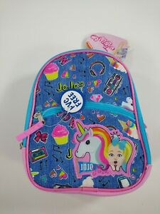 Official JO JO SIWA MIXTAPE UNICORN Insulated Zippered Lunch Tote Bag
