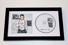 SINGER OLLY MURS SIGNED FRAMED RIGHT PLACE RIGHT TIME CD COVER BOOKLET W/COA