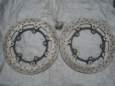 03 04 05 R6 06 07 08 09 R6s Yamaha R6 Front Rotors and Bolts - Straight