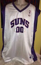 Vintage Men's Champion NBA Phoenix Suns Tony Delk #00 Jersey White Size 52 XXL