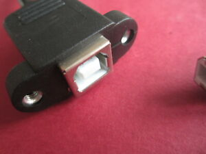 C5 USB Type B Chassis Mounting Socket Homebrew Project