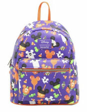 New listing Loungefly Disney Mickey Mouse Halloween Treat Mini Backpack~ With Tags~Brand New