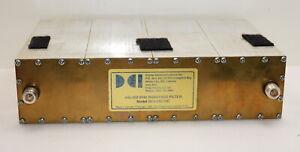 Digital Communication Inc. DCI-445-10C 440-450 Mhz 4 Pole Bandpass Filter (R001)