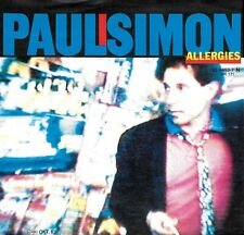 """PAUL SIMON """"ALLERGIES/Think Too Much"""" WARN BROS 92-9453-7 (1983) IMPORT 45 & PS"""