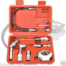 Aid Kit Fittings Grease Gun Lubrication Lube Attachments Needle Flex Hose NEW