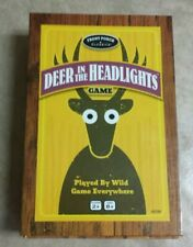 Deer in the Headlights Board Game 2014 University Games Ages 5+ Players complete