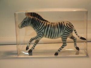ZZ Tierfigur, Zebra, 70er Jahre, Made in Germany, Neu mit Verpackung