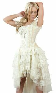 Ophelie Corset Dress Cosplay Steampunk Victorian Bridal by Burleska