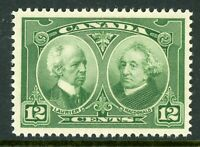 Canada 1927 Historical Issue 12¢ Green Scott # 147 MNH H837