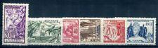 ST PIERRE et MIQUELON  1937 Yvert 160-65 * SATZ EXPOSITION 18€(F1452