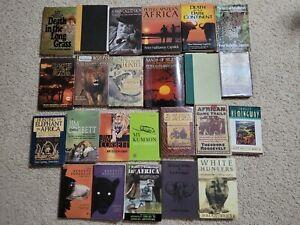 Peter Hathaway Capstick books + more Big & Dangerous Game Hunting - 24 book Lot
