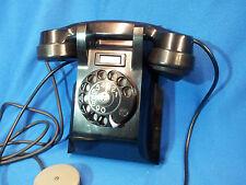 Fatme - Ericsson Roma anni 40 - Telefono da parete in bachelite