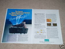 Sansui AU-D11,AU-D9 Amplifier Ad,2pgs,Article,inside!