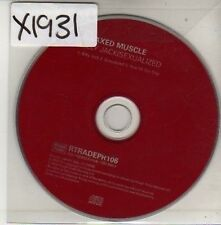 (CU720) Relaxed Muscle, Billy Jack / Sexualized - 2003 DJ CD