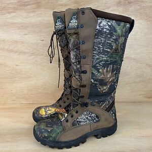 Rocky Waterproof Snakeproof Hunting Boot -Mens Sz 8.5 NEW