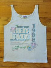Rare Vntg Coconut Grove 1988 Bed Race Tshirt Tank Top 10th Anniversary Size M