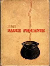 Louisiana State University Alexandria Louisiana 1963 Sauce Piquante Yearbook