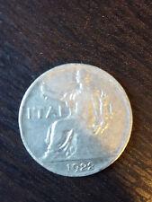 1 buono da 1 lira del 1922