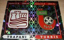 FIGURINA CALCIATORI PANINI 1994/95 SCUDETTI TRAPANI TURRIS 603 ALBUM 1995