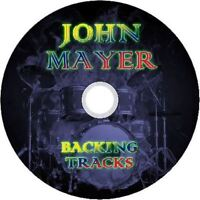 JOHN MAYER GUITAR BACKING TRACKS CD BEST OF GREATEST HITS MUSIC PLAY ALONG MP3