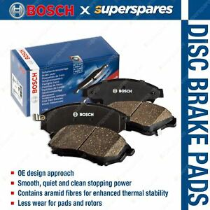 4 x Front Bosch Disc Brake Pads for Holden Commodore VE 3.0i 3.6i 6.0i RWD