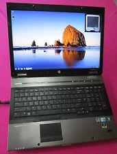 HP 8740w elitebook laptop I5-540m 2.53-3.06Ghz 6GB ram NEW 750GB hdd K2000m W7