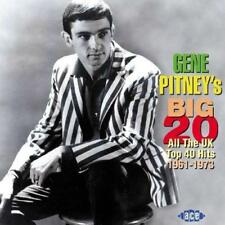 Gene Pitney - Gene Pitney's Big 20: All The Uk Top 40 Hits 1961-1973 (NEW CD)
