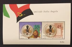 Angola 2002 - Friendship with Italy S/S MNH