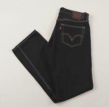 Vintage LEVI'S 501 Black Regular Straight Mens Jeans 34W 32L 34/32 /J34037