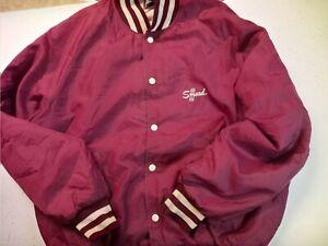 Vintage Butwin Smead Letterman Nylon Bomber Varstiy Jacket Mens