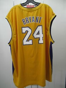 H2458  Adidas Los Angeles Lakers 24 Bryan NBA-Basketball Jersey Size 3XL