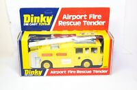 Dinky 263 Airport Fire Rescue Tender In Its Original Box - Near Mint Vintage