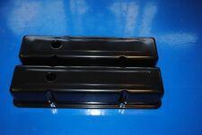 Sbc Small Block Chevy Tall Black  Valve Covers 350 383 305 283