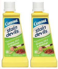 Carbona Stain Devils Specialty Grass, Dirt & Makeup Remover (1.7 Oz) - 2 NEW