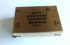 MITO RGB/NTSC ENCODER MODULE 68-333 RGB IN/OUT COMPOSITE VIDEO MONO OUT IR IN