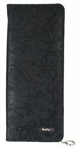 KnitPro Knitting Needle Storage Case Black Jacquard Sizes: 25/30cm - 35cm - 40cm